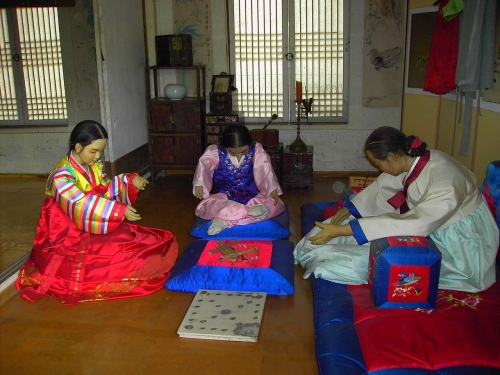 "Korea (image: ""Yut Players"" via Wikimedia Commons)"