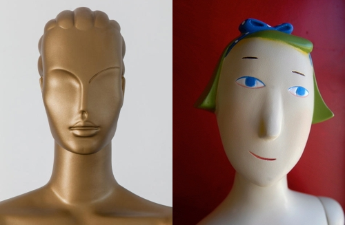 "Pucci's ""Olympian Goddess"" and ""Tango"" mannequins (public domain images)"